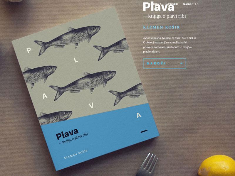 Plava — knjiga o plavi ribi