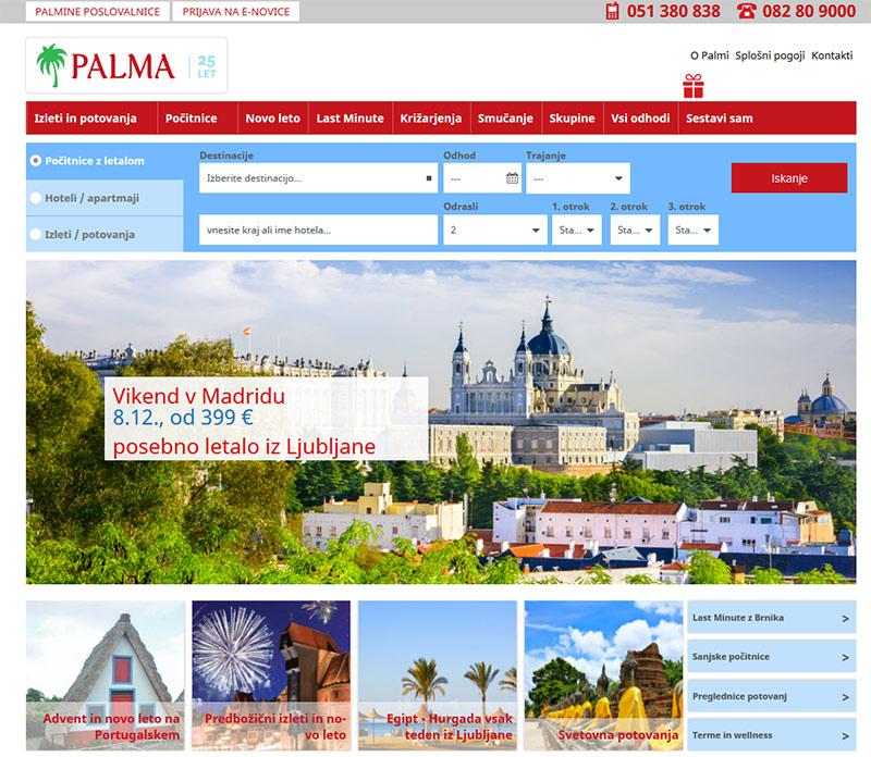 Palma – Turistična agencija