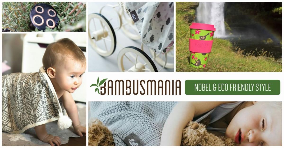 Spletna trgovina Bambusmania.com | trajnostni izdelki iz bambusa za dom, nego in otroka